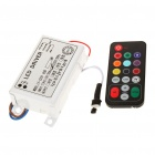 30W RGB LED Control Driver Unit w/ Remote Control for 10 x 3 Strip (AC 110~220V)