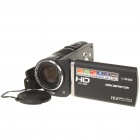 "HDV-600E 10MP CMOS Digital Video Camcorder w/ 10X Optical Zoom/AV-Out/HDMI/SD (3.5"" Touch LCD)"