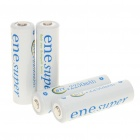 BTY Rechargeable 1.2V 2250mAh AA NI-MH Batteries (4-Piece)