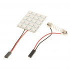 31~44mm Adjustable 3.6W 240-Lumen 20-5050 SMD Red Light Bulb (DC 12V)