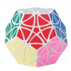 MF8 Helicopter Dodecahedron 12 Color Megaminx Rubik Magic Cube - White Base