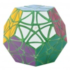 MF8 Helicopter Dodecahedron 12 Color Megaminx Rubik Magic Cube - Transparent Green Base