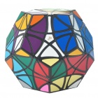 Buy MF8 Helicopter Dodecahedron 12 Color Megaminx Rubik Magic Cube - Black Base