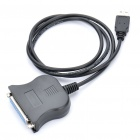 Compact USB to BF-25F Port Adapter Cable (1-Meter)
