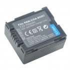 "Replacement CGA-DU07 7.2V ""700mAh"" Battery for Panasonic NV-GS10/17/30 + More"