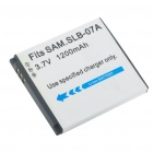 "Replacement SLB-07A 3.7V ""1200mAh"" Battery Pack for Samsung PL150/TL100/ST50"