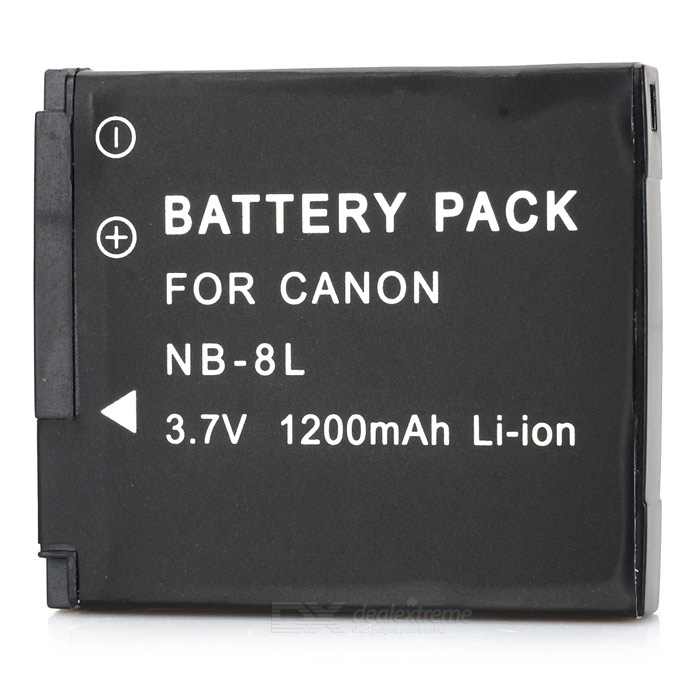 Replacement NB-8L 3.6V 740mAh' Battery Pack for Canon PowerShot A3100/A3000 IS 3 6v 2400mah rechargeable battery pack for psp 3000 2000