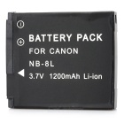 "Replacement NB-8L 3.7V ""1200mAh"" Battery Pack for Canon PowerShot A3100/A3000 IS"