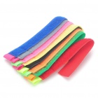 Colorful Multi-Function Velcro Cord Cable Winders Organizers (8-Piece)