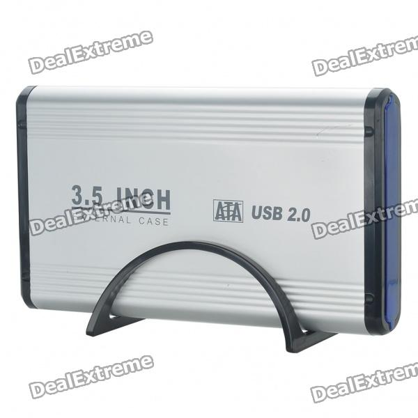 USB 2.0 3.5 IDE/SATA HDD Enclosure (Max. 2TB) drop shipping 2 in 1 ide to sata sata to ide converter adapter 40pin cable for ata hdd dvd r179t