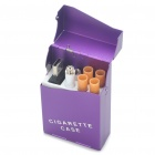 Quit Smoking USB Rechargeable Electronic Cigarette with 4-Refills - Purple (High Nicotine)