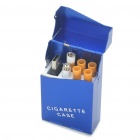 Quit Smoking USB Rechargeable Electronic Cigarette with 4-Refills - Blue (High Nicotine)