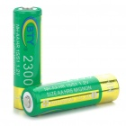 BTY 1.2V Rechargeable Batteries de Ni-MH AA 2300mAh (paire)