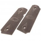 Hand Crafted Wood Pistol Gun Grips for M1911 - Brown