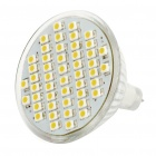 MR16 2.8W 48-SMD LED 220Lumen 2700-3500K Warm White Light Bulbs (11~18V)