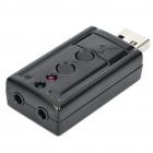 USB Virtual 7.1 Channel External Sound Card Adapter