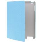 Genuine Rock Ultrathin Protective Wake-Up/Sleep Smart Cover Case for iPad 2 - Blue