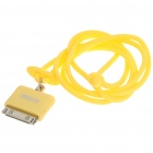 Fashionable Original Rock Light Bright Lanyard for iPhone/iPod/iTouch/Nano - Yellow