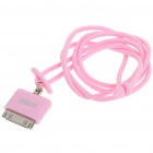 Fashionable Original Rock Light Bright Lanyard for iPhone/iPod/iTouch/Nano - Pink
