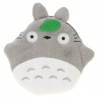 Cute My Neighbor Totoro Style Plush Bag with Strap - White + Grey