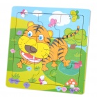 Wooden Jigsaw Puzzle - Random Image Pattern (5-Pack)