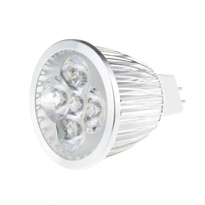 MR16 5W 6500K 500-Lumen 5-LED White Light Bulb (DC 12V) от DX.com INT