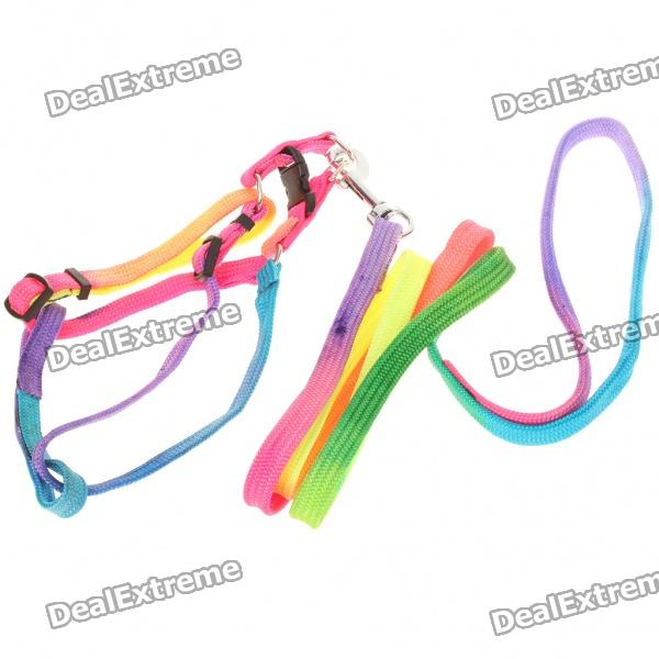 Colorful Adjustable Strap Dog Leash (Size-S/110cm-Length)