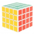 New 4x4x4 Brain Teaser Magic IQ Cube - White Base