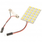 31~44mm Adjustable 4.5W 3500K 288-Lumen 24-5050 SMD LED Warm White Light Bulb (DC 12V)