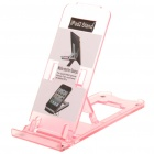 Portable 5-Level ABS Stand Holder for Ipad/Iphone/Touch 4 - Red