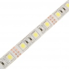 144W Waterproof 8400-Lumen 600 * 5050 SMD LED branco azulado Light Strip flexível (10m / DC 12V)