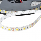 144W Waterproof 8400-Lumen 600 * 5050 SMD LED 3300K Tira flexível Warm White Light (10m / DC 12)