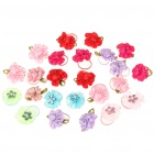 Colorful Dog Head Decoration Flowers (12Pcs/Set)