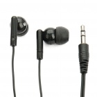 Trendy Mini Stereo Earphone - Black