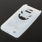 Creative Devil Protective Silicone Back Case for Samsung Galaxy S2/i9100 - White