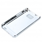 Protective Aluminum Wiredrawing Back Case for Samsung i9100 Galaxy S2 - Silver