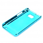 Protective Aluminum Wiredrawing Back Case for Samsung i9100 Galaxy S2 - Blue