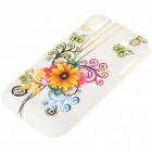Stylish Protective Case for Samsung Galaxy S i9000 - Sunflower Pattern