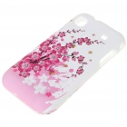 Stylish Protective Case for Samsung Galaxy S i9000 - Sakura Pattern
