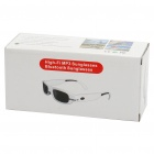 Stylish Rechargeable 280mAh MP3 Music Player + Bluetooth Function Sunglasses - White