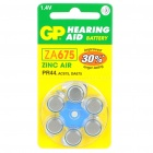 GP ZA675 Hearing Aid Zinc Air bateria (6-Piece Pack)