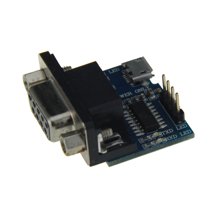RS232 Serial Port Express Card Adapter - Blue + Black + Silver
