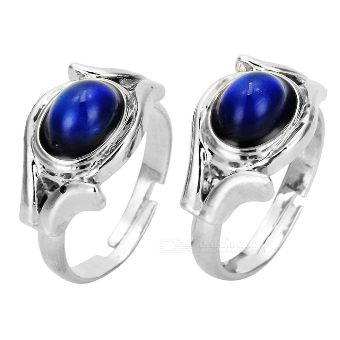 Beautiful Body Temperature Color-Changing Finger Ring - Random Color