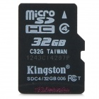 Подлинная Kingston TF / Micro SD Memory Card (Class 4 / 32)