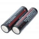 "3.7V recargable ""3600mAh"" 18650 - Actual 2200mAh (2 pieza Pack)"