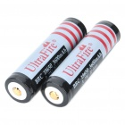 "Rechargeable 3.7V ""3600mAh"" 18650 Battery - Actual 2500mAh (2 Piece Pack)"