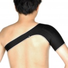 Shoulder Magnetic Support Brace Protector - Black (Size L)