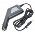 Stylish Car Cigarette Powered Charging Adapter Charger for HP Laptop Notebook - Black (4.8x1.7mm)
