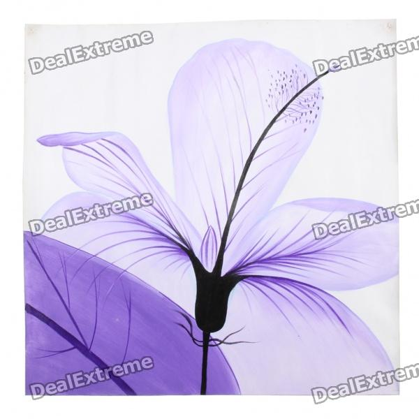 Handmade Hand Painted Oil Painting - Violet (2)