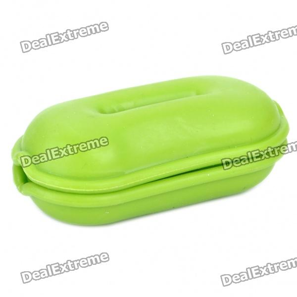 Lovely Cable Turtle Smart Wrap Organizer - Green
